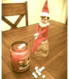 Who Doesn't Love To Roast Marshmallows? - Elf On The Shelf Ideas - Photos