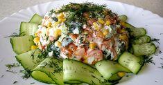 Pravidlo posledného jedla dňa do 18:00 je pre moderného človeka nesplniteľná úloha. Dôvodov je niekoľko: práca,... New Recipes, Healthy Recipes, Avocado Egg, Food Art, Cobb Salad, Pickles, Asparagus, Zucchini, Sushi