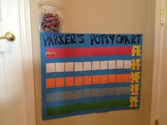 Our new Potty chart!
