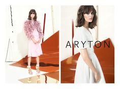 Marta Dyks w kampanii wiosna-lato 2014 marki Aryton