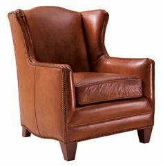Henredon Leather Chair @Henredon Furniture