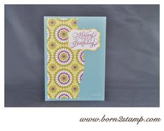 Stampin UP! Beautiful Birthday