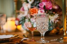 Gilded & Glitzy Romance Styled Shoot on Borrowed & Blue.  Photo Credit: Tank Goodness Photography