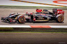 Lotus,Circuit de catalunya,2014