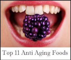 Top 11 Anti Aging Foods