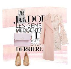 """Classy"" by junkiastros on Polyvore featuring moda, Kate Spade, Chiara Ferragni, Hobbs, Valentino, women's clothing, women, female, woman e misses"