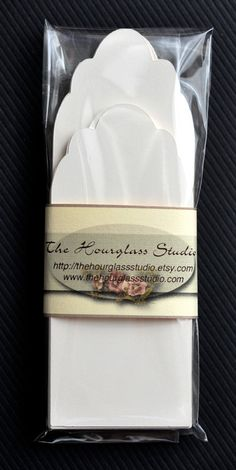 Bookmark Blanks by TheHourglassStudio on Etsy, $7.75