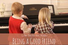 Teaching Kids Life Skills: Being a Good Friend