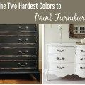 When and How to use Antique Glaze or Dark Wax on your Painted Furniture