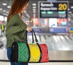 Bandana Styles, Waterproof Fabric, Travel Bags, Shoulder Strap, Vibrant, Tote Bag, Printed, Luxury, Traveling