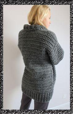 gilet au crochet n°10 Crochet pour le corps et bordures au tricot                                                                                                                                                                                 Plus