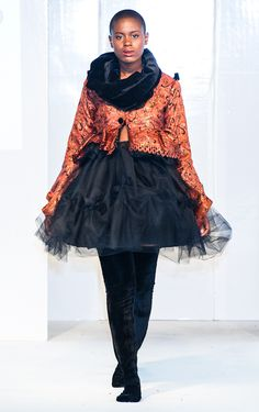Adaora's collection at Africa Fashion Week London 2012