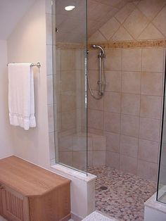 Shower Without Door awesome design ideas for walk-in showers without doors   glass