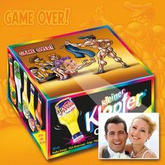 Dein Foto auf der Verpackung - GAME OVER mit Wunschbild & Text