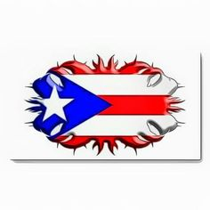 colors of puerto rican flag