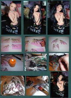 Sculpting a Polymer Clay Fairy   tutorial