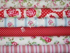 Yard Bundle / DELILAH Fabric / Tanya Whelan Fabric /  6 by mimis, $57.00