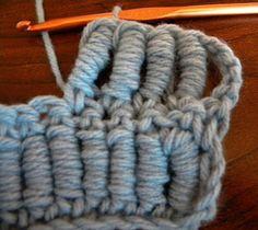Lots of Crochet Stitches by M. J. Joachim: Bullion Stitch
