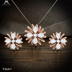 "See our internet site for even more details on ""buy diamond pendant set"". It is an outstanding place to learn more. Diamond Earing, Diamond Hoop Earrings, Pendant Earrings, Diamond Studs, Pendant Jewelry, Diamond Necklaces, Diamond Jewellery, Pendant Set, Gold Pendant"