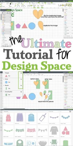 Learn all the tips and tricks for Cricut Design Space with this beginner's guide. Get a step-by-step walk through on all the menus, tools, and designer options. Be comfortable with your expensive craft purchase and make the most of your craft supplies. Cricut Explore Air, Cricut Explore Projects, How To Use Cricut, Cricut Help, Cricut Air 2, Cricut Vinyl, Tips And Tricks, Circuit Projects, Vinyl Projects
