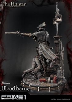 Bloodborne: The Old Hunters The Hunter Statue by Prime 1 Stu Bloodborne Figure, Triss Merigold, Popular Kids Toys, 3d Figures, The Rite, Sideshow Collectibles, Dark Souls, Old Things, Darth Vader