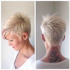 short hair with silver and purple highlights - Google Search