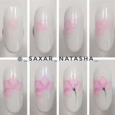 35 Simple Ideas for Wedding Nails Design Simple Wedding Nails, Wedding Nails Design, Mauve Nails, Gel Nails, Toenails, Beautiful Nail Designs, Cool Nail Designs, Flower Nail Art, Nagel Gel