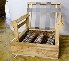Sofa Frames Construction | Attached To A Sofa Or Chair Frame. Stretch The  Fabric Diagonally