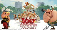 #CONCOURS #ASTERIXDDD 1 Montagne de #cadeaux? des places pour le @ParcAsterix de ciné & des affiches du film RDV sur Twitter à @SNDfilms