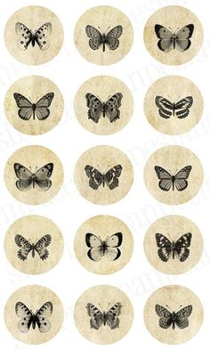 butterfly transfers Más