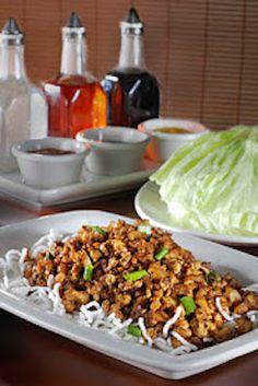 P.F. Chang's China Bistro Lettuce Chicken Wraps Copycat Recipe