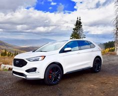 """The ST version is aimed at a """"performance grownup"""" who desires a Ford Edge's utility, but also wants more power and performance. Ford Edge Accessories, Vehicle Accessories, Ford Edge Suv, Car Goals, Drifting Cars, 2019 Ford, Rally Car, Future Car, Cars Motorcycles"""