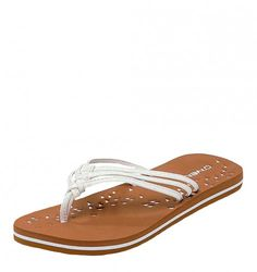 95493c6ffb0 O Neill Ditsy women s flip flops are stylish and comfortable. These summer  sandals feature
