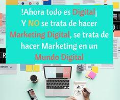 ¿Y tu empresa ya está en digital? Marketing Digital, Shopping, Frases