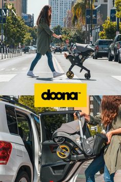 Doona Infant Car Seat and Stroller transforms from car seat to compact stroller in a breeze. It's the perfect choice for modern parents who need their baby gear to do more without compromising! An all-in-one travel system, the Doona has a long list of safety and comfort features that help ensure your little one is cozy and safe on all legs of your trip!! Car Seat And Stroller, Baby Car Seats, Seat Protector, Perfect Marriage, Travel System, Cute Baby Pictures, Baby Gear, All In One, Cute Babies