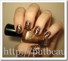Dazzling Cheetah Print Nail Tutorial