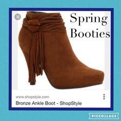 Brown Suede Fringe Heeled Bootie SZ 7.5   Memoirs fashion JunkE shopping re-sale retail KB THREADS Krysten