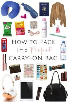 Carry-On Packing Guide | How to Pack the Perfect Carry On
