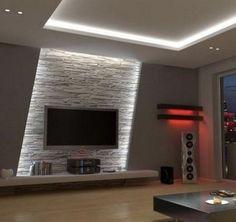 Wandgestaltung Stein Lascas Wandgestaltung Wohnzimmer