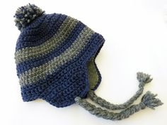 Crochet Hat for Baby / Toddler Boy or Girl 100 by evergreenliving, $26.00