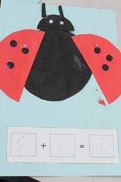 Addition Ladybugs Craftivity – Little Lifelong Learners