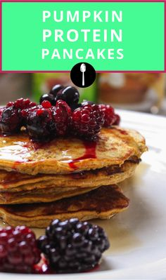 A pancake recipe that packs a protein punch.