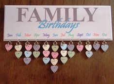 Creative Family Birthday Board Idea Creative Family Birthday Board Idea The post Creative Family Birthday Board Idea appeared first on Pinova - Gardening Family Birthday Board, Birthday Diy, Friend Birthday, Birthday Quotes, Birthday Cards, Cadeau Parents, Decoration Photo, Birthday Reminder, Family Calendar