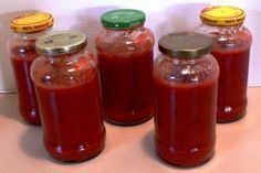 How to make 5 jars of spaghetti sauce in 5 minutes without all the chemicals and high fructose corn syrup