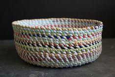 Tutorial: Sew a rope basket | Craft Gossip | Bloglovin'