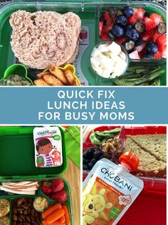 Quick #LunchIdeas for #Busy Moms