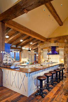 Winn Residence - rustic - kitchen - denver - Daniel J. Murphy Architect, PC