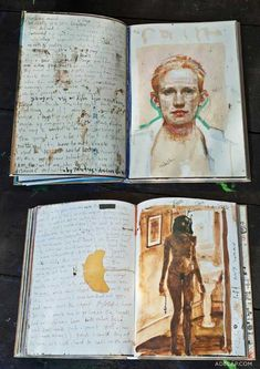 Top Chef: Episode 5 - Out Standing in a Field Artist Journal, Art Journal Pages, Collages, Moleskine, Art Sketches, Art Drawings, Kunst Online, Arte Sketchbook, Zine