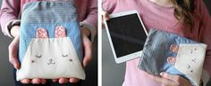 DIY iPad-Hülle // DIY iPad-Hülle via blog.DaWanda.com