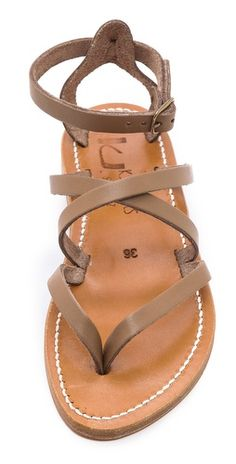 K. Jacques Epicure Crisscross Sandals | SHOPBOP
